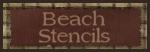 BEACH STENCILS