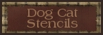 Dog Cat Stencils